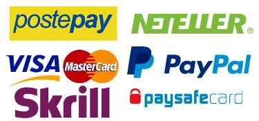 Metodi di pagamento accettati Magazzini3g