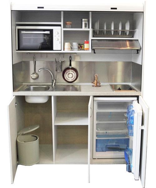 mini cucina 160 cm completa di tutto. Black Bedroom Furniture Sets. Home Design Ideas