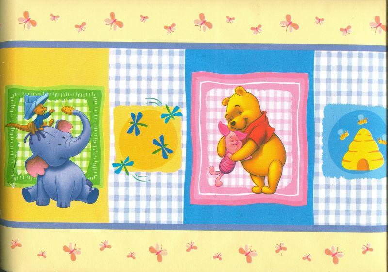 Bordo adesivo pooh bear for Bordo adesivo decorativo