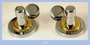 Porta specchio Chromato/oro