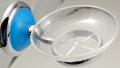 SOAP DISH CHROMATED OTTONE BLUE