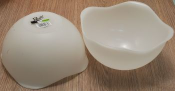 SALAD WHITE BOWL DIAM. 30 BY Gio'Style