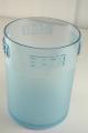 Poubelle en acryliques BATH bleu