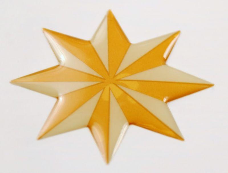 Set di 4 autoadesive per piastrelle stella - Piastrelle autoadesive ...