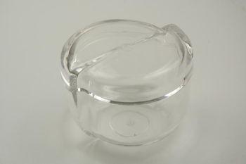 Porte coton blanche Transparente
