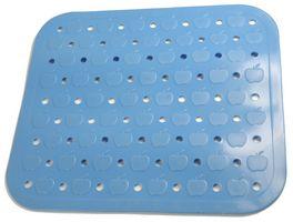 Tapis d'evier en PVC bleu