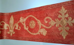CLASSICAL CALLIGRAPHY RED