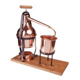 ALAMBICCO (COPPER DISTILLER) 3 lt WITH THERMOMETER