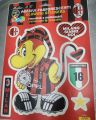 STICKERS MILAN FOSFORESCENTI