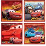 Stickers murale Disney Cars Friends - 4 pezzi