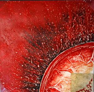Gemälde - Öl auf Leinwand dim. 60HX60L