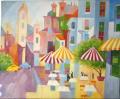 Paintings - Oil on Canvas dim.58HX48L