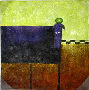 Peintures - Huile sur toile dim.50HX50L