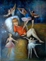 Peintures - Huile sur toile dim.120HX90L