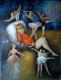 Gemälde - Öl auf Leinwand dim.120HX90L