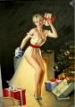 Peintures - Huile sur toile dim.90HX60L