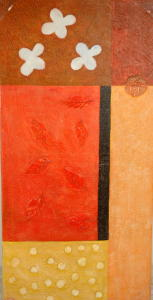 Gemälde - Öl auf Leinwand dim.100HX50L