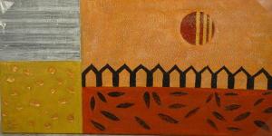 Gemälde - Öl auf Leinwand dim.50HX100L