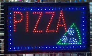 INSEGNA LUMINOSA PIZZA
