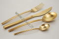 "Cutlery ""ICE GOLD"""