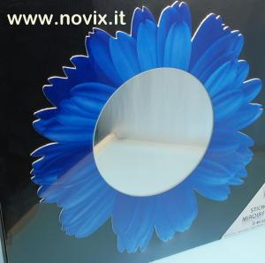 MIRROR STICKER BLUE