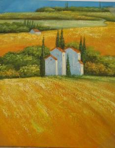 Peintures - Huile sur toile dim.58HX48L