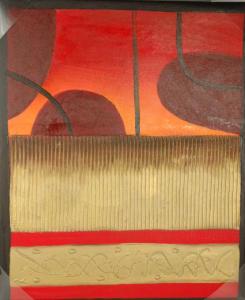 Dipinti - Olio su Tela dim.58HX48L 55-985