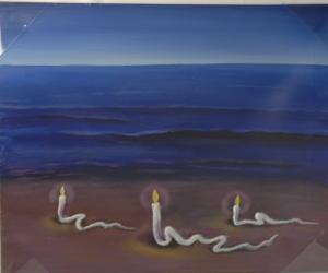 Gemälde - Öl auf Leinwand dim.40HX50L