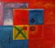 Dipinti - Olio su Tela dim.50HX50L 55-1002