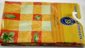 Plasticized tablecloth TC611 Dim: 140 x 160 cm