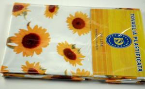 Plasticized tablecloth TCS101 Dim. 140x160 cm