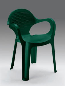 ARMCHAIR OLE 'IMPLIABILE GREEN