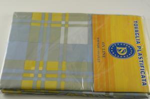 Plasticized tablecloth TC5 Dim.140x200cm.