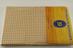Plasticized tablecloth TC223 Dim.140x200cm.