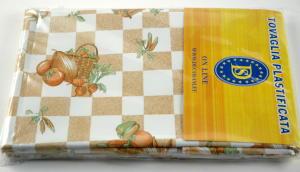 Plasticized tablecloth TCD111 Dim.140x240cm.