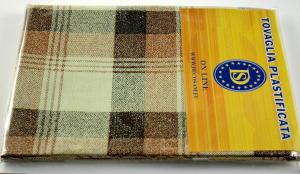 Plasticized tablecloth TC1241 Dim.140x240cm.