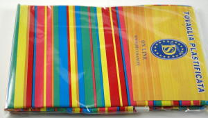 Plasticized tablecloth TC461 Dim.140x240cm.