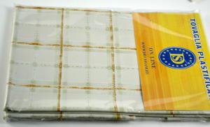 Plastifizierte Tischdecke TC581 Abm.140x180 cm.