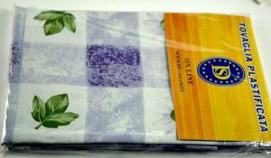 Plastic tablecloth size 140x180 cm