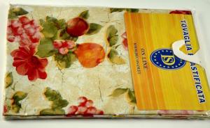 Plasticized tablecloth TC511 Diam. 160 cm