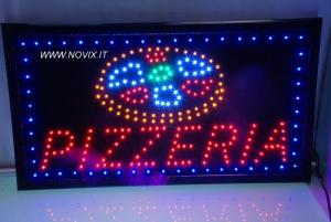 UN SIGNE LED LIGHT PIZZERIA