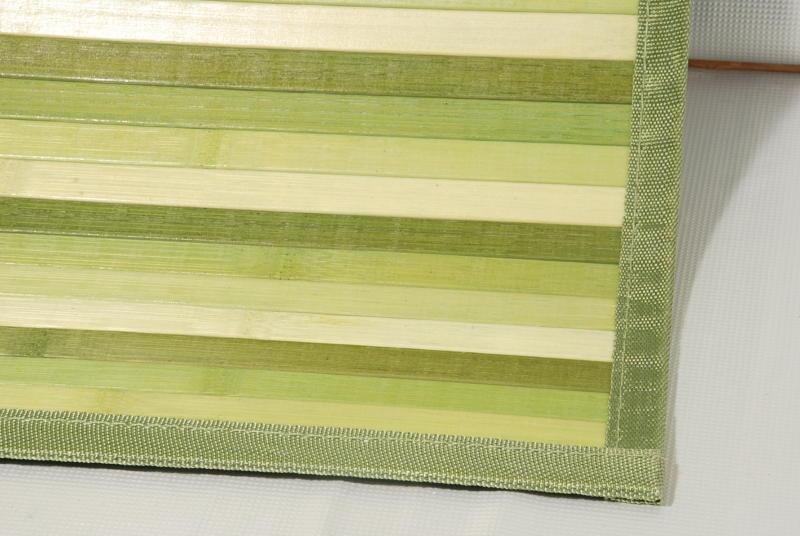 tapis bambou vert 55x180 cm. Black Bedroom Furniture Sets. Home Design Ideas