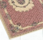 TAPIS BOUQUET 14OX195 CM ROSE