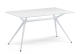 TABLE METROPOLIS 140 X 85 GLOSS WHITE GLOSS