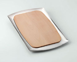 PLANCHE A COUPER FROMAGE RECTANGULAIRE BASIC 42X27 CM