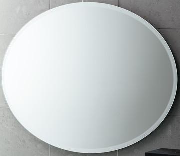 Specchio ovale 55 x 75 - Specchio ovale bagno ...