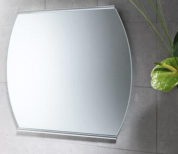 Specchio jamaica 70 x 62 cornice in ottone senza luci - Specchio senza cornice ...