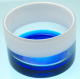 VASE PLAN BLUE / WHITE
