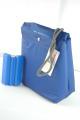 Sac isotherme bleu + un carreau de glace