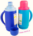 Bouteille Isotherme Techno 1000cc bleue